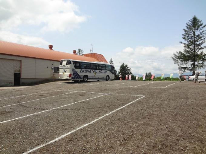 バス駐車場