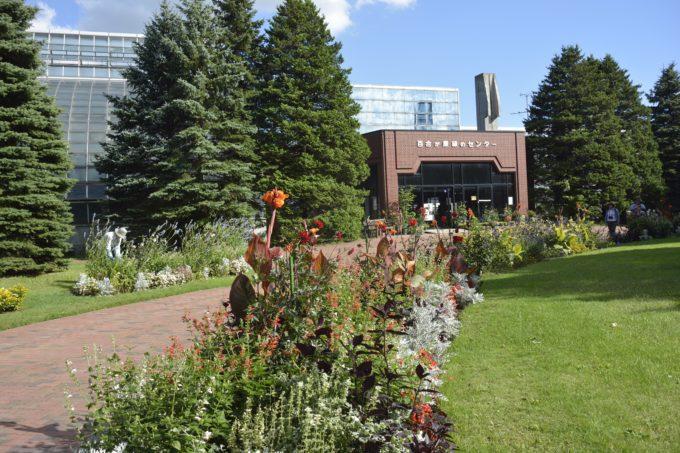 百合が原緑のセンター温室