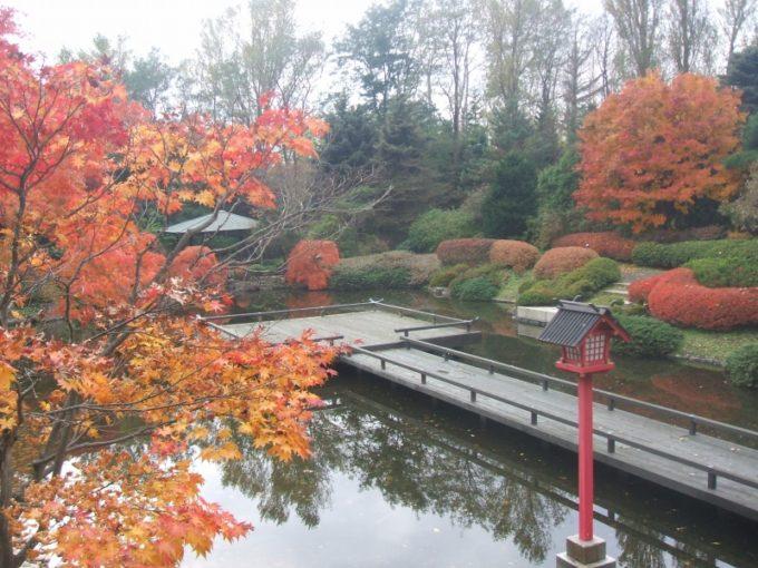 日本庭園水舞台