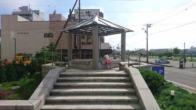 ラビスタ釧路川にある足湯