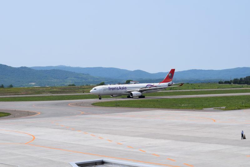 トランスアジア航空の機体