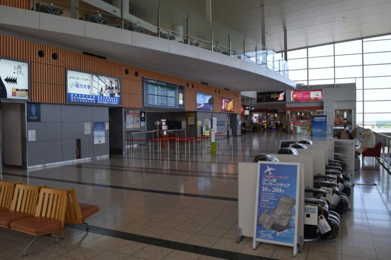 旭川空港ターミナルビル2Fフロア