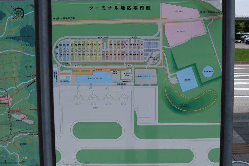 ターミナル地区案内図