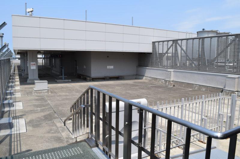 旭川空港展望デッキ
