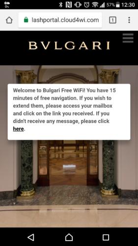 画面が切り替わり、Wi-Fiによるインターネット接続が完了となります。