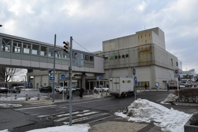 ココトマがあるJR「苫小牧駅」南口