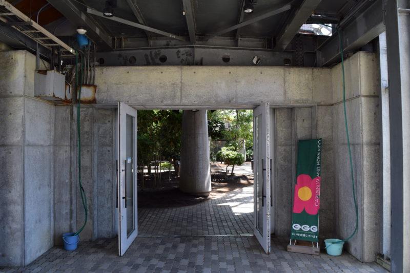 釧路フィッシャーマンズワーフMOO側のEGG出入口