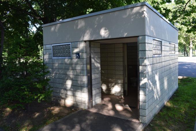 伏古公園バリアフリー対応トイレ