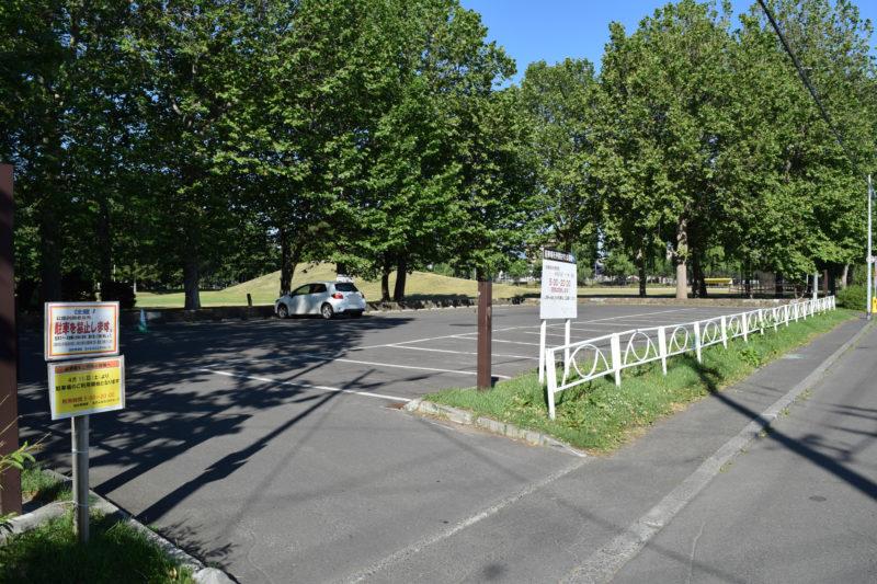 伏古公園駐車場