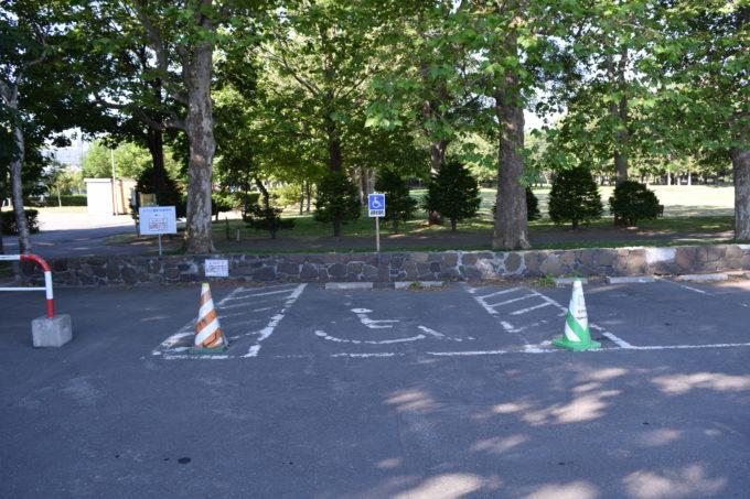伏古公園身障者優先駐車スペース