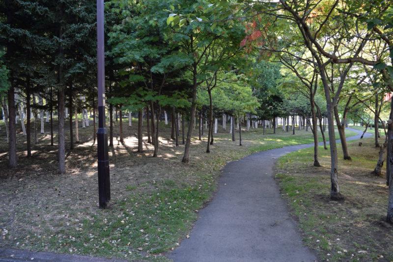 伏古公園ランニングコース