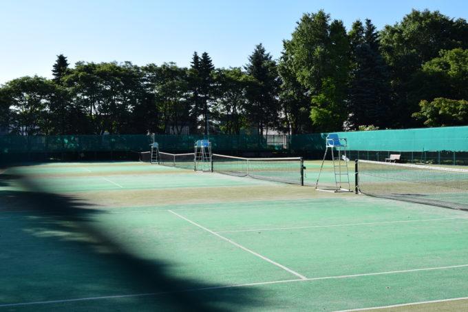 伏古公園テニスコート