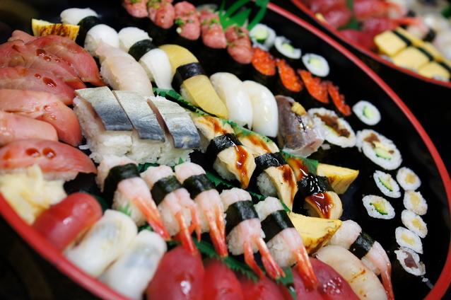 北海道の宅配寿司・出前寿司一覧