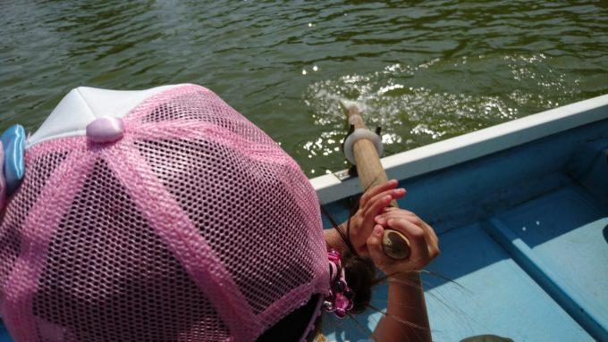 かぶと池ボート