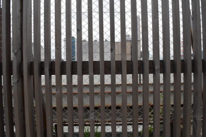 そらのガーデン柵