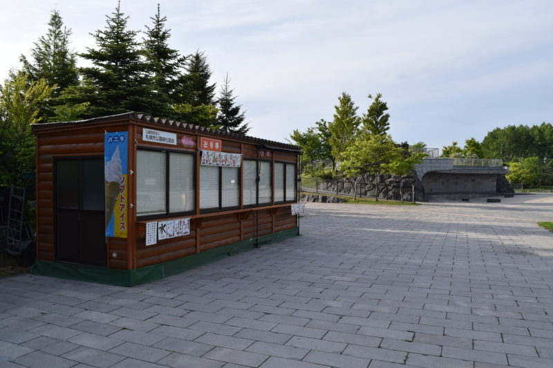 川下公園の屋外売店