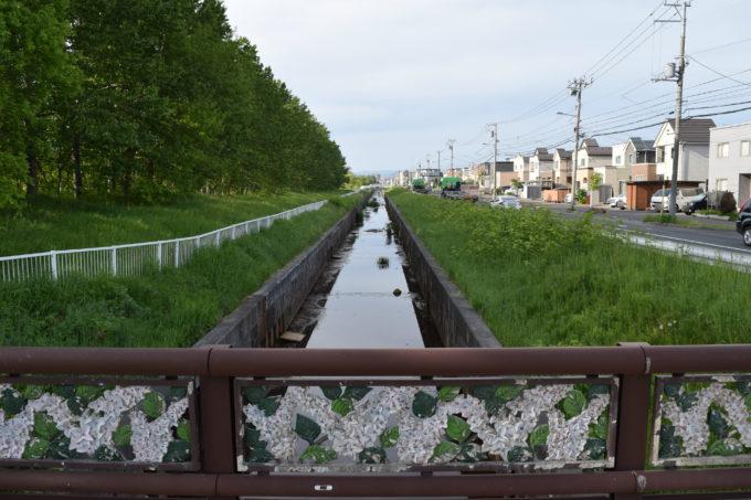 北白石川・川下公園橋