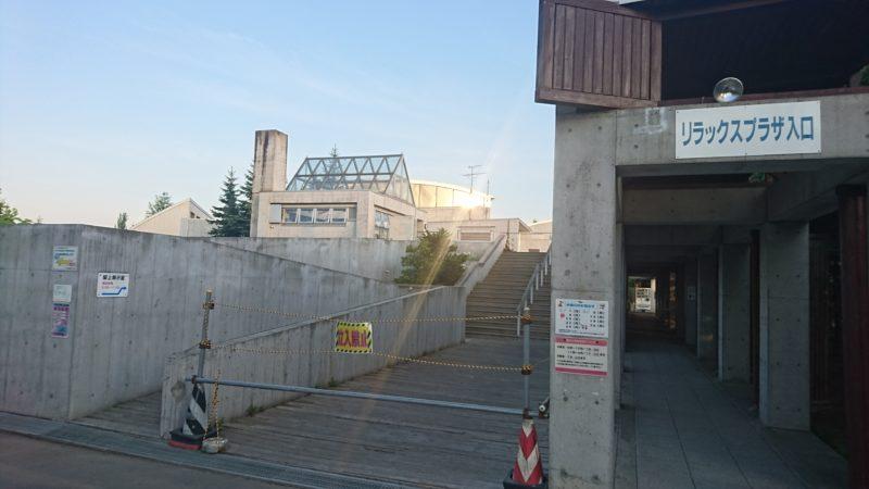 屋上展示室の入口