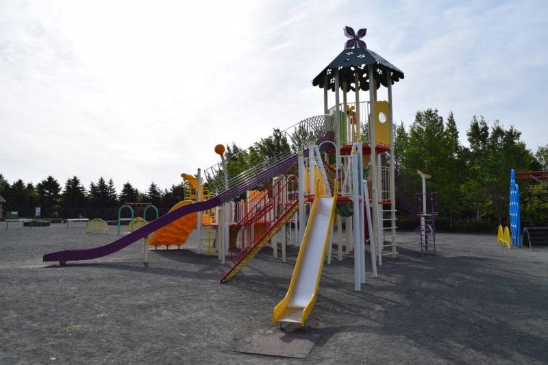 川下公園の大型コンビネーション遊具
