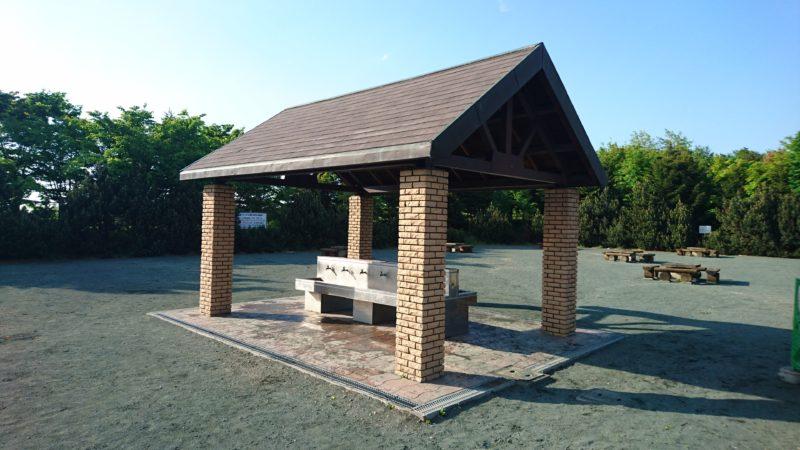 川下公園の炊事棟