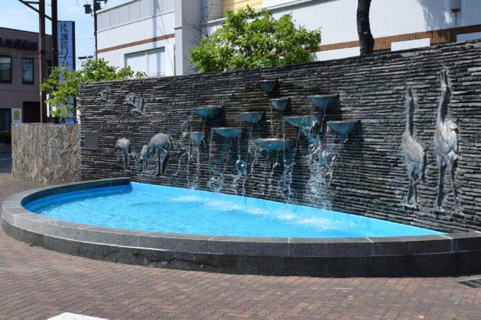 釧路駅前小公園