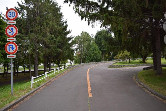 農試公園「交通コーナー」