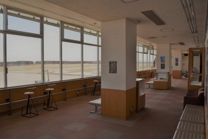 帯広空港展望ホール