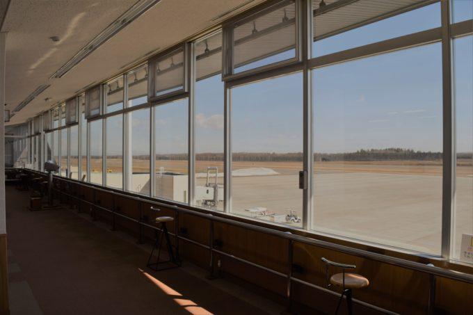 帯広空港滑走路