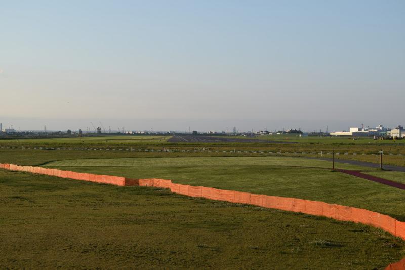丘珠空港緑地きたかぜ広場の芝生広場