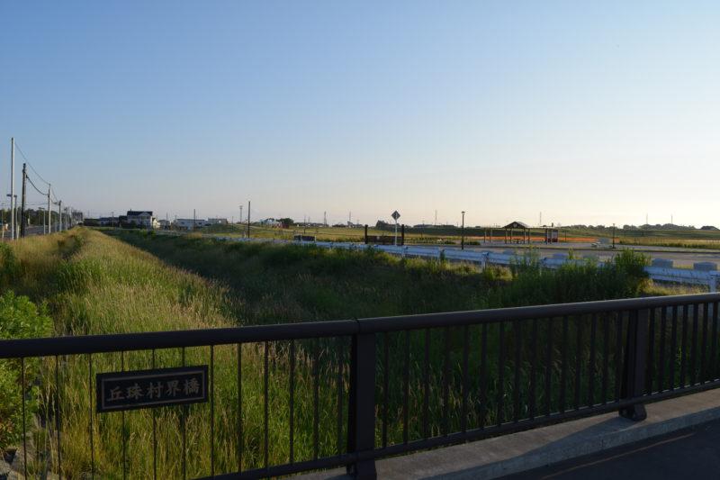 丘珠村界橋