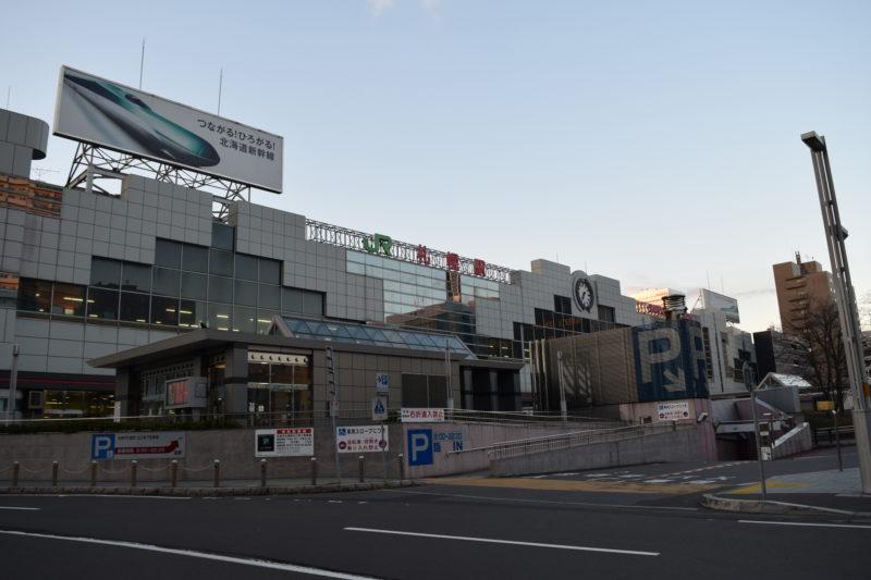 札幌駅北口地下駐車場