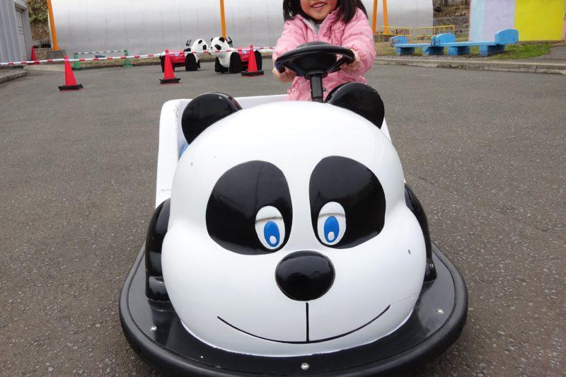パンダのバッテリーカー