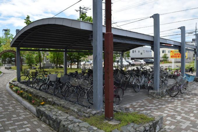 滝川市役所駐輪場