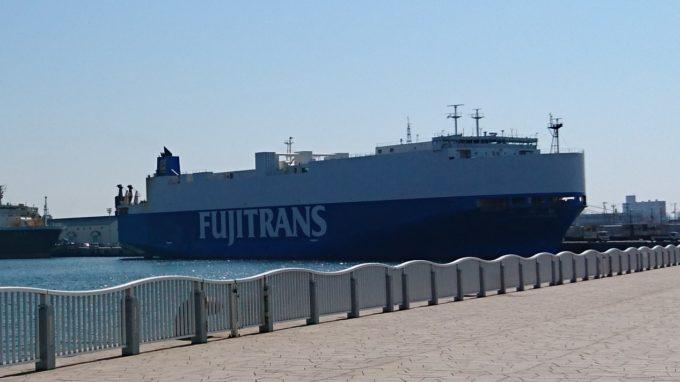 フジトランスコーポレーション船舶の蓉翔丸