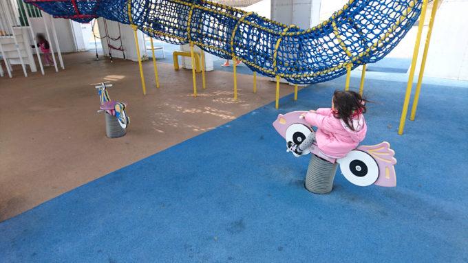 キラキラ公園スプリング遊具
