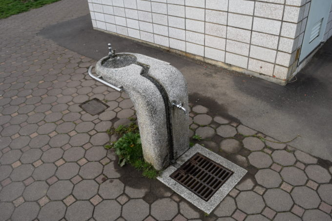 やちだも公園水遊び場・手洗い場
