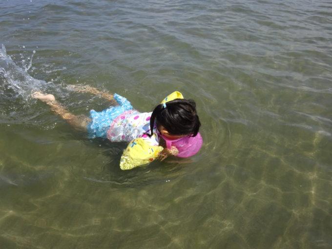 水中観察に便利な箱型の水中メガネ(のぞきめがね)