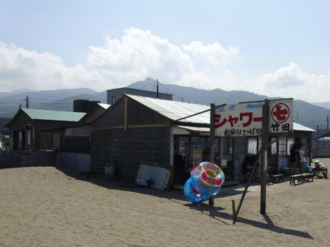 銭函海水浴場海の家竹田