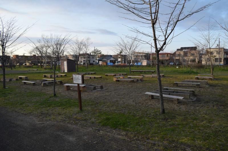 柳町公園バーベキューコーナー