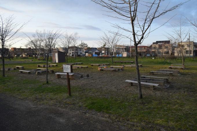 柳町公園バーベキュー