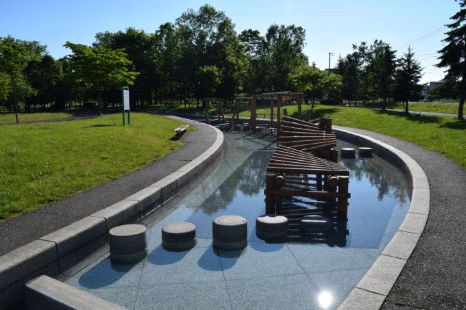 忠和公園水上トリムコース