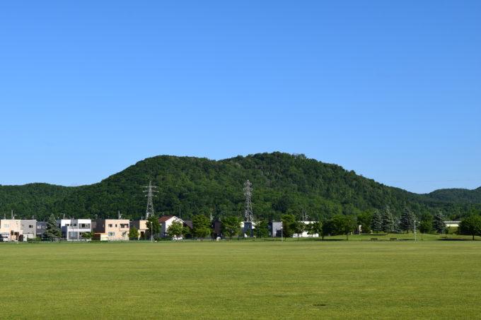 嵐山と嵐山からの眺望