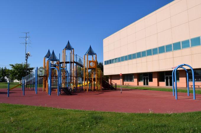 忠和公園コンビネーション遊具