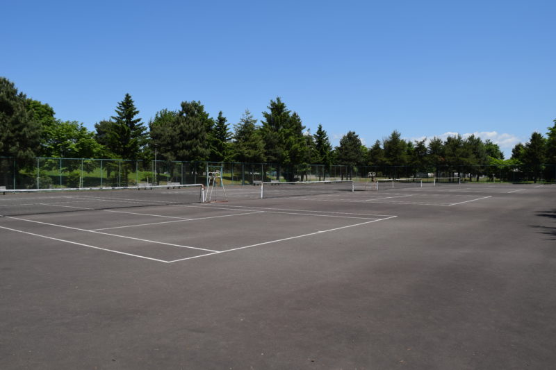 新富公園テニスコート