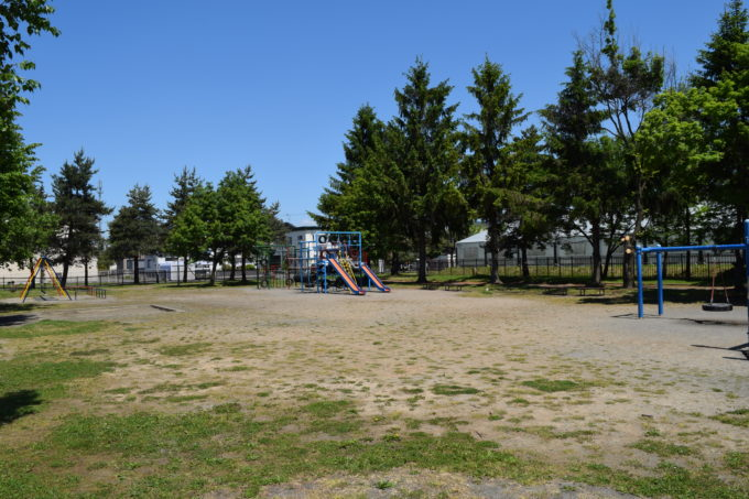 新富公園の遊具広場