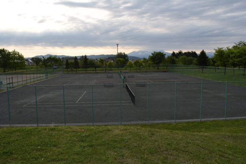 東豊公園テニスコート