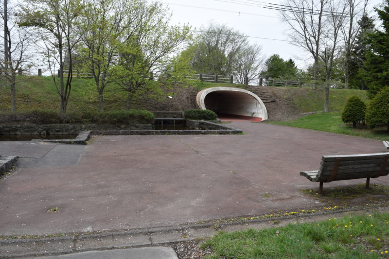 3つのエリアは全てトンネルでつながっている