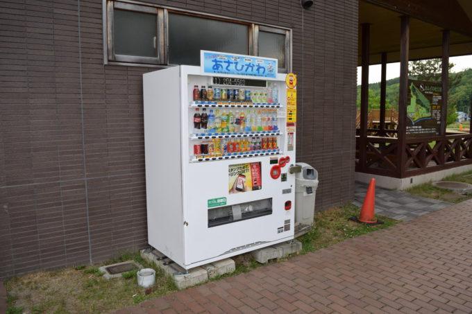 森のふしぎ館付近の自動販売機