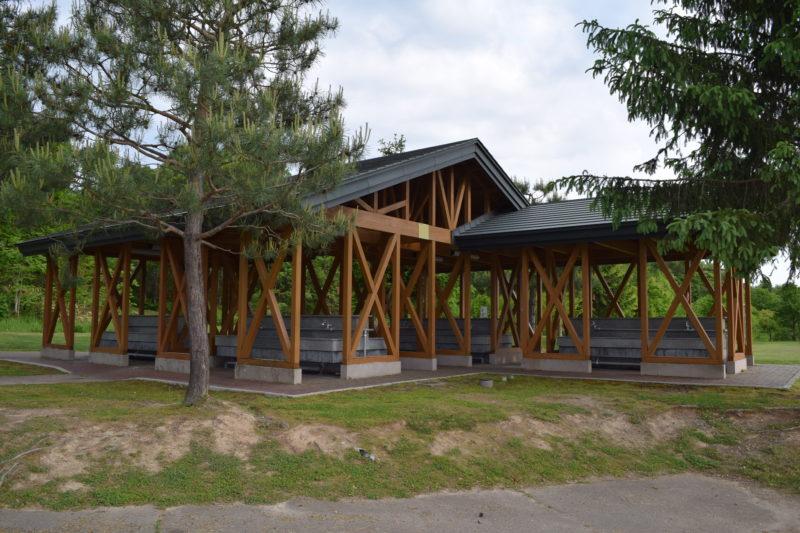 カムイの杜公園キャンプ場の炊事場
