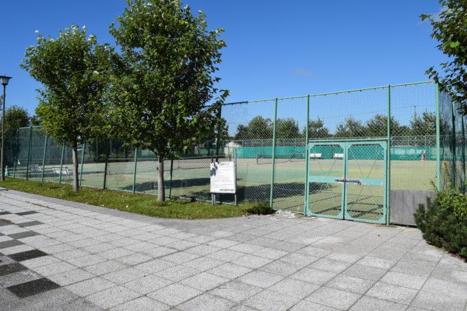 とおや恵公園テニスコート